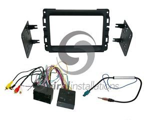 Dodge RAM 1500 2500 3500 2013 Up DD Radio Stereo Installation Dash Kit Combo WH