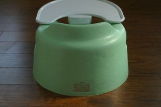 Bumbo Baby Seat with Tray and Safety Strap Mint Green Gender Neutral