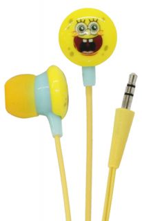 iHip Spongebob Squarepants Mini Earbud Headphones