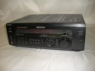 Sony Str DE635 5 1 Home Theater Surround Sound Stereo Receiver 400 Watts