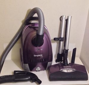 Simplicity Snap Canister Vacuum Cleaner w Power Head Super Clean