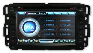 Chevy Silverado 07 11 in Dash Touch Screen GPS Navigation Radio Stereo w USB