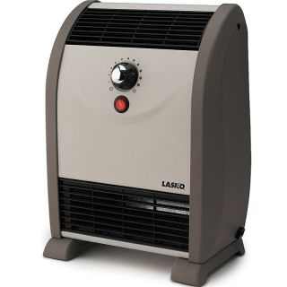 Lasko Automatic Air Flow Portable Heater 1500W Compact Slim Electric Space Heat