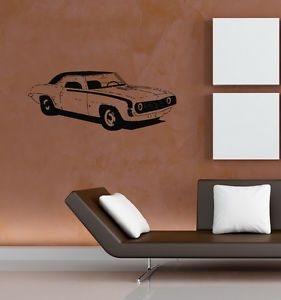 Wall Mural Sticker Vinyl Decal Home Decor Retro Classic Sport Car Auto B435