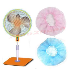 Child Baby Kids Safety Nylon Rope Washable Dustproof Home Fan Protection Cover