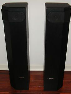 Bose 501 Series V Main Stereo Tower Speakers Home Theater Surround Sound