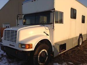 Motorhome Toter Home RV Race Car Hauler Project Needs Finish