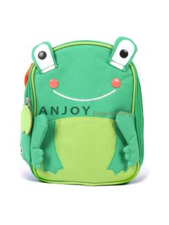 New Cute Cartoon Book Bag Lunch Box Animal Zoo Handbag Child Toddler Boys Girls