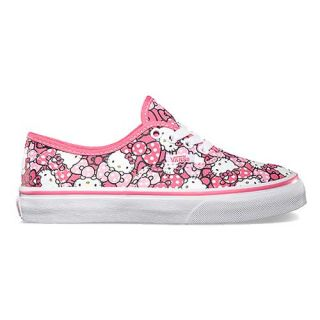 Vans Authentic Hello Kitty Shoe Pink footwear Shoes Morning Glory Hot All Sizes