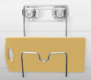 Cutting Boards Rack Kitchen Chopping Board Holder Stainless Steel Wall Mounted