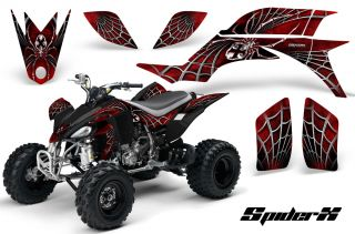 Yamaha YFZ 450 03 08 ATV Graphics Kit Decals Stickers Spiderx RB