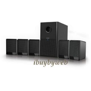 Coby CSP97 5 1 Channel Home Theater Speaker System New