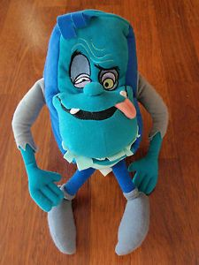 "1994 Applause 10"" Pagemaster Horror Book Plush Toy"