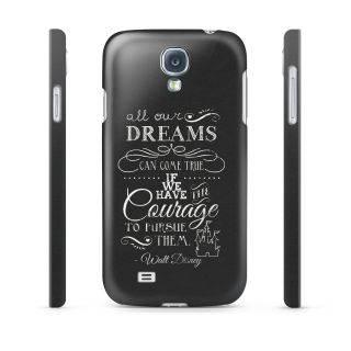 Dreams True Disney Quote Hard Cover Case for iPhone iPod Samsung HTC Sony