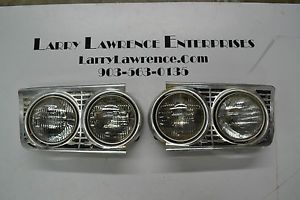 1963 Ford Galaxie and Others Headlight Housings Lights and Bezels