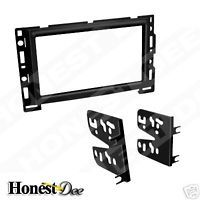 Chevrolet Car Stereo Double 2 D DIN Radio Install Dash Kit Metra 95 3302