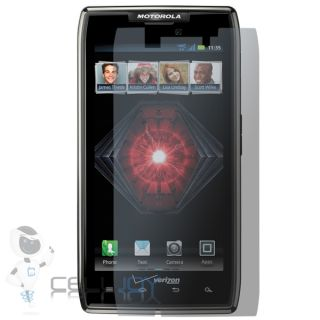 Motorla Droid RAZR Maxx Privacy Filter Matte LCD Screen Protector Guard Verizon