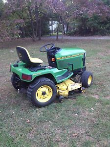 John Deere 425ALL Wheel Steering Lawn Garden Tractor