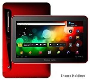 Visual Land Prestige Prestige 10 16GB, Wi Fi, 10in   Red