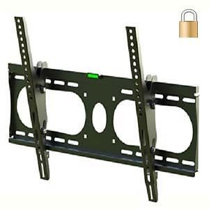 Lockable Motion Touch Tilt Ultra Slim Design TV Wall Mount for LCD LED Plasma