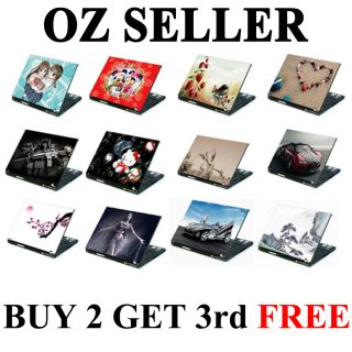 Laptop Skin Notebook Cover Sticker High Gloss 2 3RDFREE