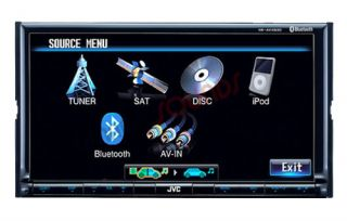 JVC KW AVX830 Car CD DVD Player Touch Screen Bluetooth