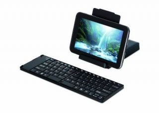 Targus AKF001US Foldable Bluetooth Universal Keyboard for Accsandroid Tabl Phone