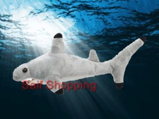 "Plush Soft Stuffed Animal Ocean Blacktip Reef Shark 32"" 81 3 cm Grey Gray Big"