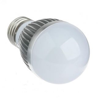 New Cool White E26 E27 3W 6 SMD Chips LED Light Bulb Lamp Lighting Bright Lamp