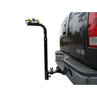 Heavy Duty 2 Two Bike Swing Down Hitch Mount Carrier Bicycle Rack Car Truck SUV