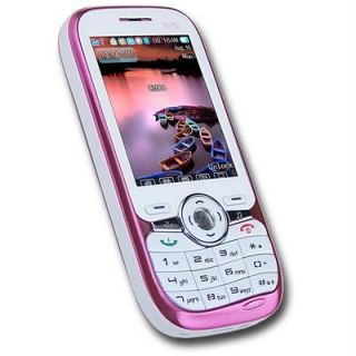Sunnjet SJ816 Smart Cell Phone Dual Sim Pink White  Unlocked