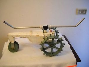 Vintage  Craftsman Traveling Walking Garden Lawn Sprinkler Tractor Works