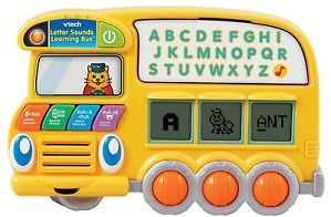 Vtech Letters Sounds Learning Bus Phonics Words Spelling Letters 3 6 Yrs