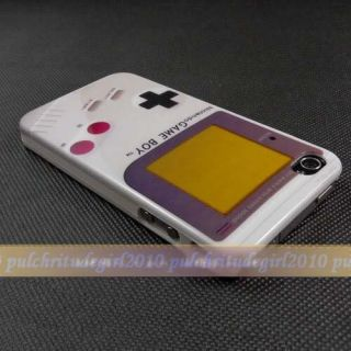 Retro Nintendo NES Controller Game Boy Hard Case Cover for iPhone 4 4th 4S