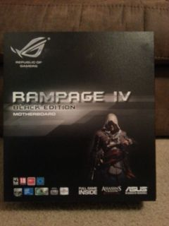 Asus Rampage IV Black Edition LGA 2011 Intel X79 Extended ATX in Stock