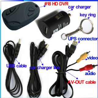 18 HD DVR Video Motion Detect Camera Camcorder H 264 720P Time Lapse Photos