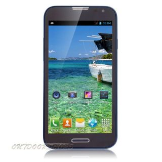 "5 3"" Android 4 2 Smart Cell Phone Dual Core WiFi Dual Sim Unlocked GSM T Mobile"