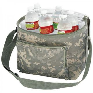 Extreme Pak Digital Camo Water Resistant Heavy Duty Cooler Bag Front Rear Pocket