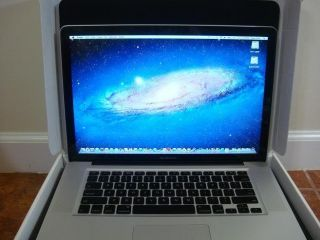 "Apple MacBook Pro 15"" Laptop Unibody 4GB 500GB 2OS OSX Lion WIND7"