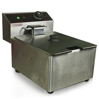 Deep Fryer Electric 2500 Watt Commercial Unit Restaurant Frying Deep Fryer New
