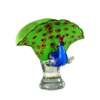 Dale Tiffany Peacock Perfume Bottle