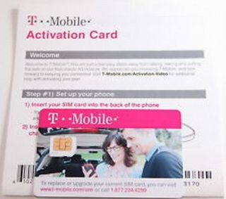New T Mobile Micro Sim Card Activation Kit Tmobile Prepaid 3G 4G LTE Postpaid