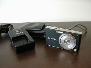 Panasonic Lumix DMC FX33 Digital Camera Charger Battery Case Nice