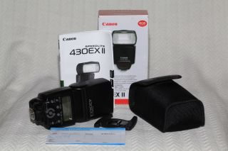 Canon Speedlite 430EX II Shoe Mount Flash for Canon D46395 0013803099805