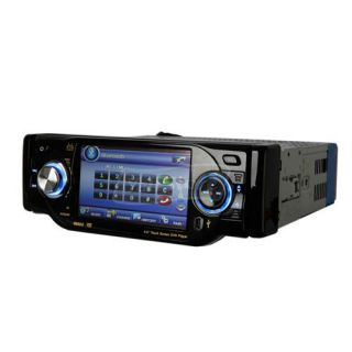 "New Da 4001 4"" 1 Single DIN Touch Screen Bluetooth Car DVD Audio Video Player"