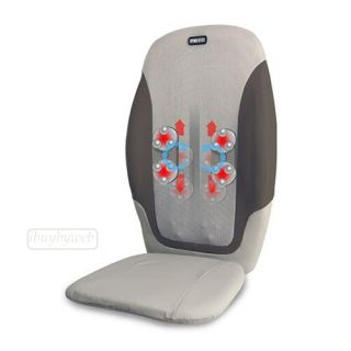 Homedics MCS 370H True Swedish Massage Cushion Back Massager New