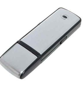 New Digital 4GB Spy Voice Recorder Hidden Rechargeble USB Flash Drive SCH 1355