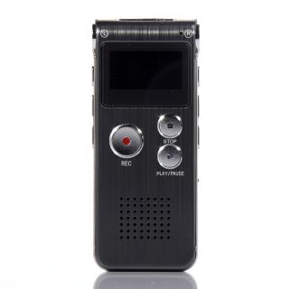 8GB USB Digital Activated PCM Voice Recorder Dictaphone  with Battery