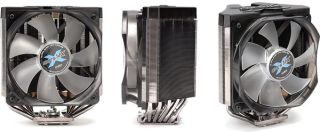Zalman CNPS11X Extreme V Shaped Dual Heat Sink CPU Cooler for Intel AMD