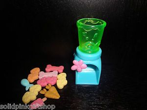 Littlest Pet Shop LPS Cute Accessory Food Dispenser Plus Snacks